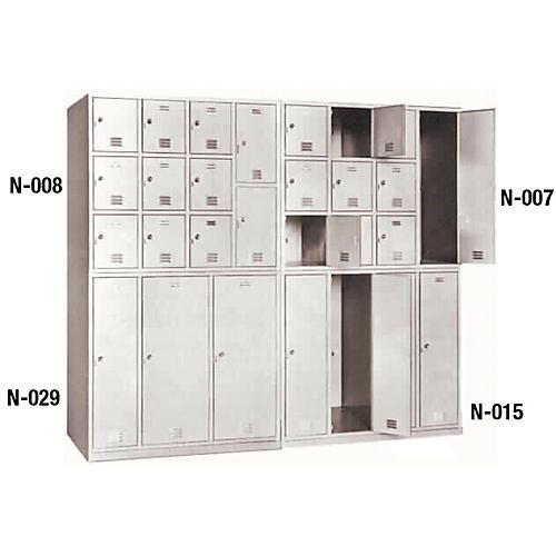 Norren Modular Instrument Cabinets in Gray