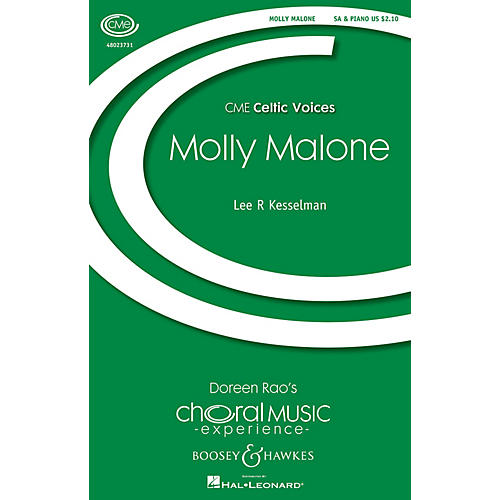 Boosey and Hawkes Molly Malone (CME Celtic Voices) SA arranged by Lee Kesselman