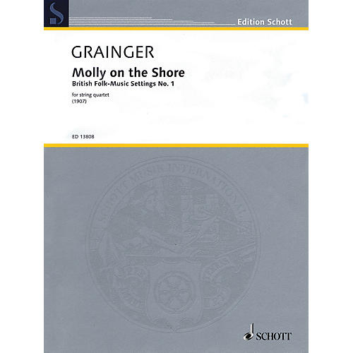 Schott Molly on the Shore String Series Softcover Composed by Percy Aldridge Grainger-thumbnail