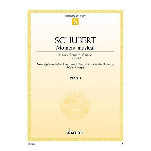Schott Moment Musicaux No. 2 in A-flat Major, Op. 94, D 780 Schott Series