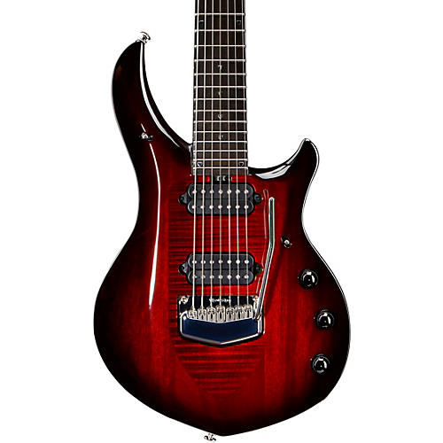 Ernie Ball Music Man Monarchy Majesty 7 Chrome Hardware 7-String Electric Guitar-thumbnail