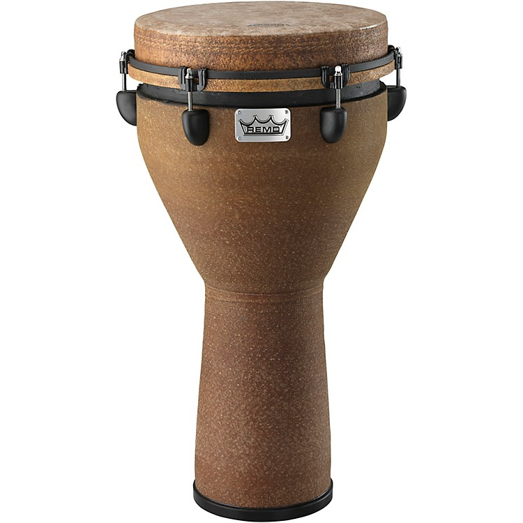 Remo Mondo Designer Series Key-Tuned Djembe Earth 12x24