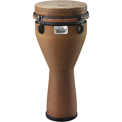 Remo Mondo Designer Series Key-Tuned Djembe Earth 24 x 10 in.