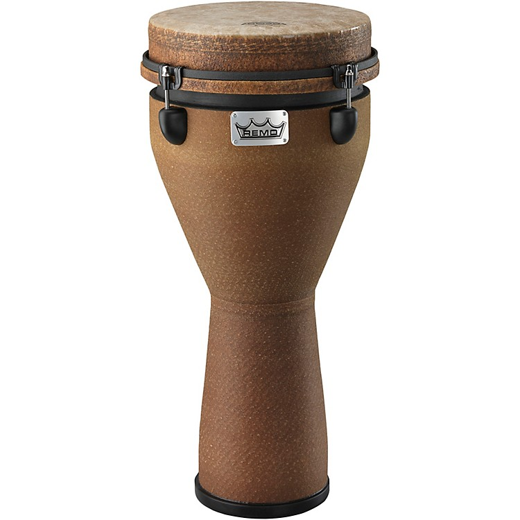 Remo Mondo Designer Series Key-Tuned Djembe Earth 24X10 Inches