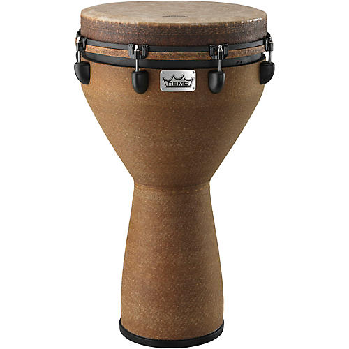 Remo Mondo Designer Series Key-Tuned Djembe Earth 25 x 14 in.