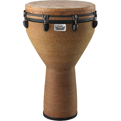 Remo Mondo Designer Series Key-Tuned Djembe Earth 27 x 16 in.