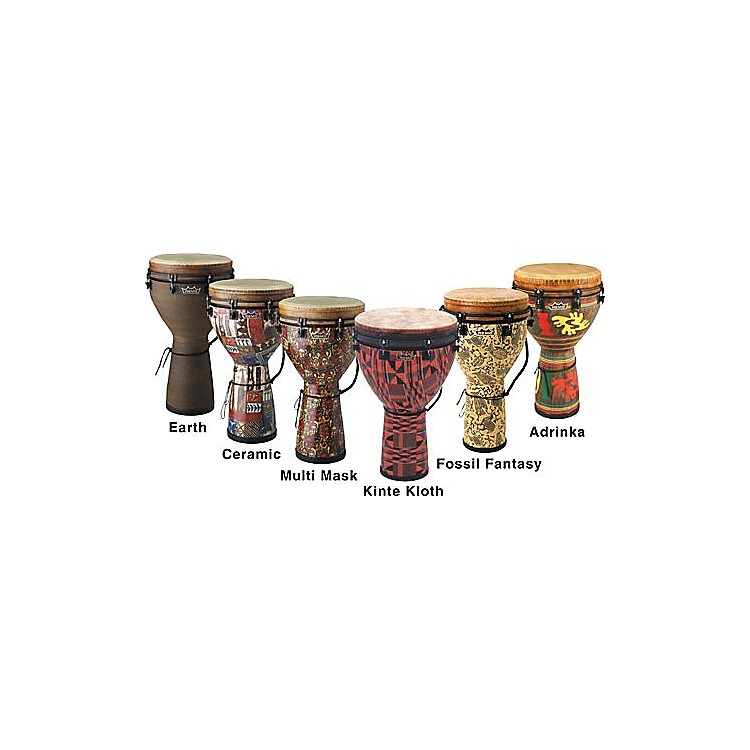Remo Mondo Designer Series Key-Tuned Djembe Multi-Mask 12x24