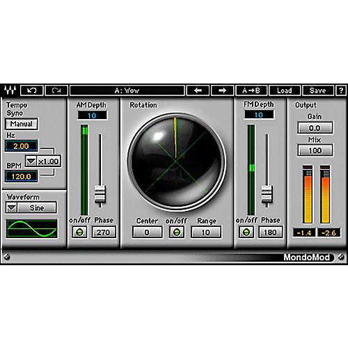 Waves MondoMod Native/TDM/SG Software Download