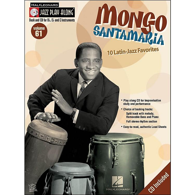 Hal LeonardMongo Jazz Play-Along Volume 61 Book/CD