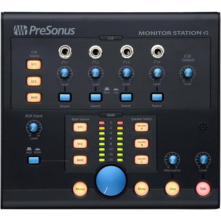 presonus monitor station v2 desktop studio control center musician 39 s friend. Black Bedroom Furniture Sets. Home Design Ideas