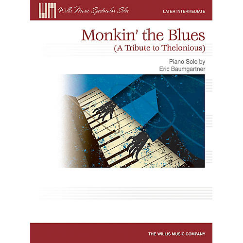 Willis Music Monkin' the Blues (Later Inter to Advanced Level) Willis Series by Eric Baumgartner-thumbnail