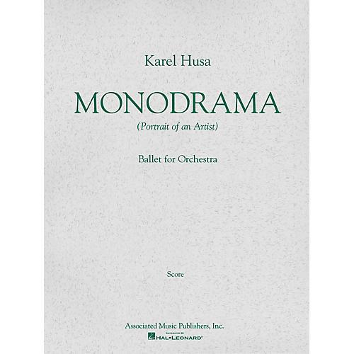 Associated Monodrama (Portrait of an Artist) (Miniature Full Score) Study Score Series Composed by Karel Husa-thumbnail