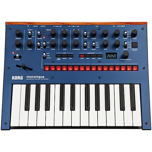 Korg Monologue Monophonic Analog Synthesizer with Presets Blue