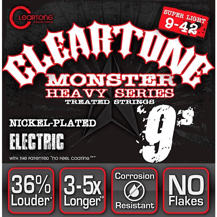 CleartoneMonster Black Series Super Light Electric Guitar Strings