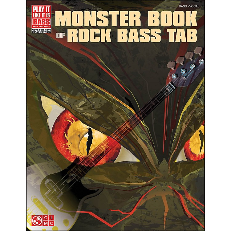 Cherry Lane Monster Book Of Rock Bass Tab