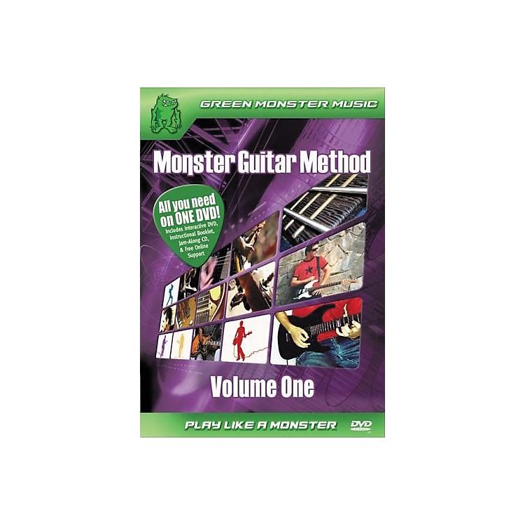 AlfredMonster Guitar Method Vol. 1 Dvd/Cd Set
