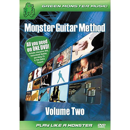 Alfred Monster Guitar Method Vol. 2 Dvd/Cd Set