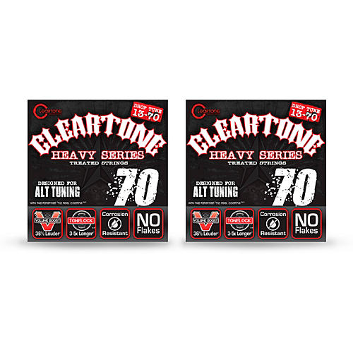 Cleartone Monster Heavy Series Drop C Nickel-Plated Strings (2-Pack)-thumbnail