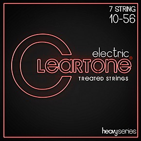 cleartone monster heavy series nickel plated 7 string light electric guitar strings musician 39 s. Black Bedroom Furniture Sets. Home Design Ideas