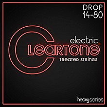 Cleartone Monster Heavy Series Nickel-Plated Drop A Electric Guitar Strings