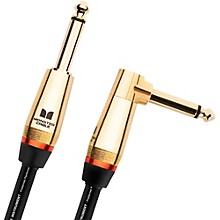 "Monster Cable Monster Rock 1/4"" Angled to Straight Instrument Cable"