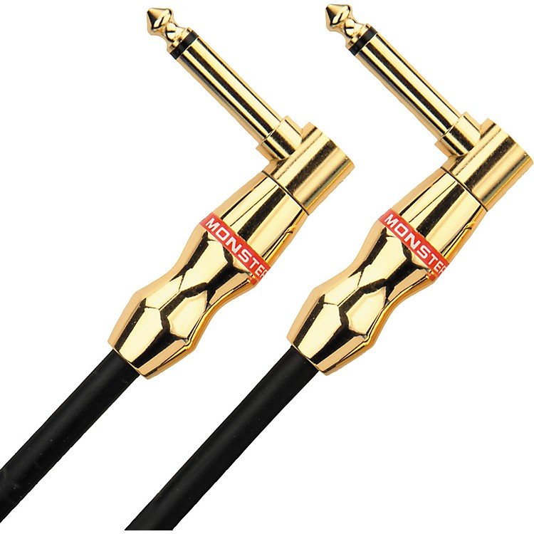 Monster CableMonster Rock Instrument Cable Angled-Angled