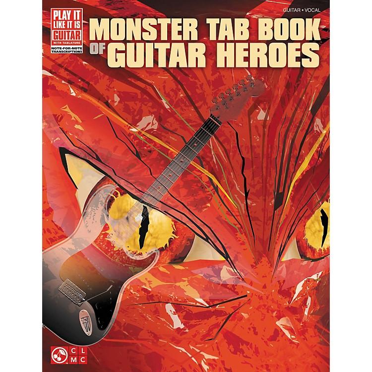 Cherry LaneMonster Tab Book Of Guitar Heroes