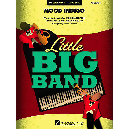 Hal Leonard Mood Indigo Jazz Band Level 4