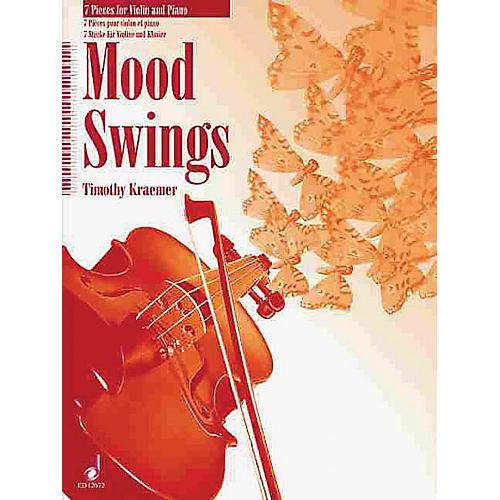 Schott Moodswings (7 Pieces for Violin and Piano) Schott Series-thumbnail