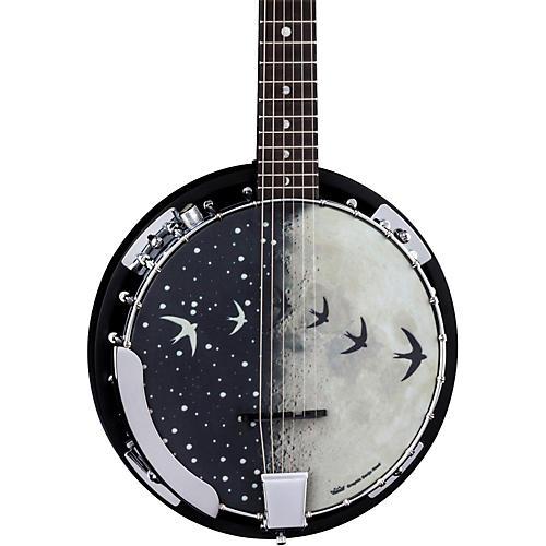 Luna Guitars Moonbird BGB 6-String Acoustic-Electric Banjo-thumbnail
