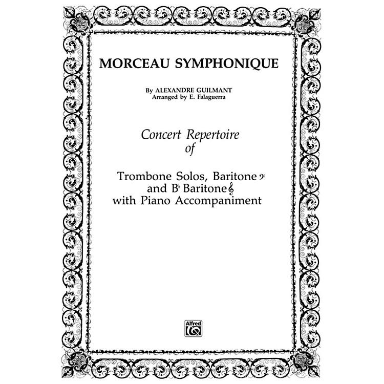 AlfredMorceau Symphonique Trombone Solo