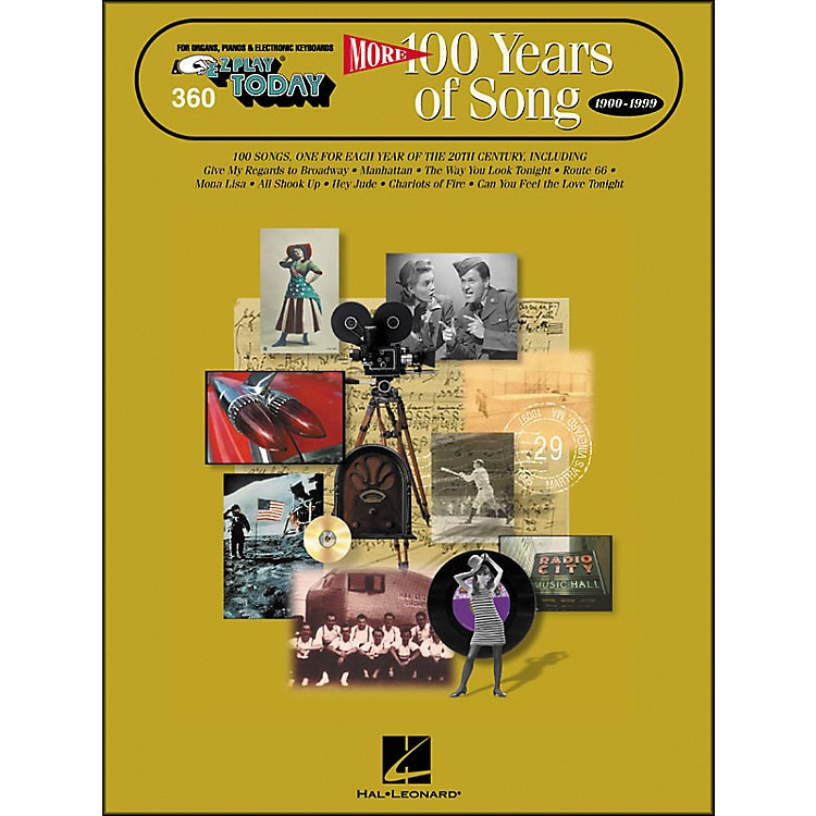 Hal Leonard More 100 Years Of Song 1900-1999 E-Z Play 360