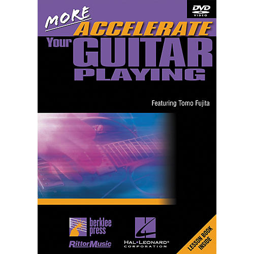 Hal Leonard More Accelerate Your Guitar Playing DVD-thumbnail