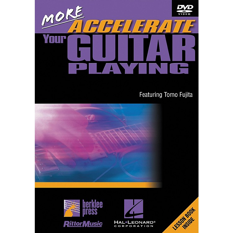 Hal Leonard More Accelerate Your Guitar Playing DVD