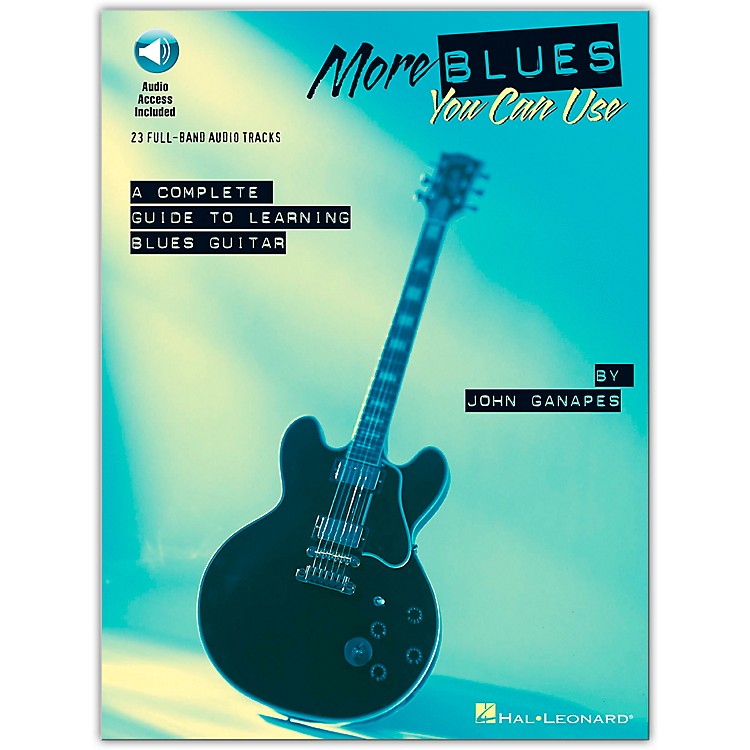 Hal Leonard More Blues You Can Use (Book/CD)