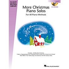 Hal Leonard More Christmas Piano Solos - Level 2 Piano Library Series Book with CD