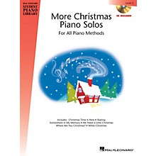 Hal Leonard More Christmas Piano Solos - Level 5 Piano Library Series Book with CD