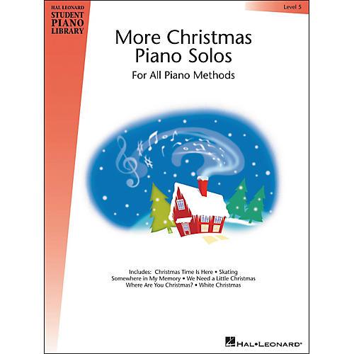 Hal Leonard More Christmas Piano Solos Book 5 Hal Leonard Student Piano Library