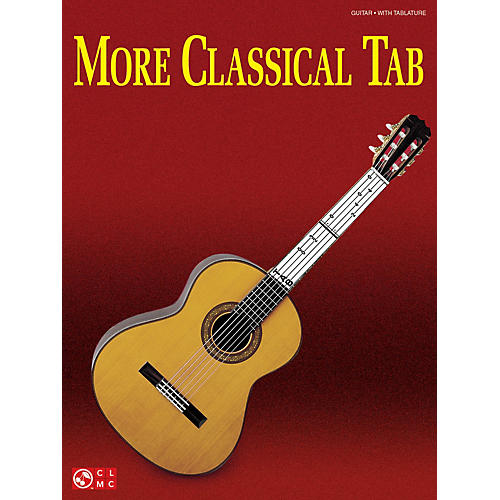 Cherry Lane More Classical Tab (Solo Guitar with Tablature) Guitar Series Softcover-thumbnail
