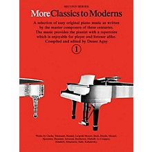 Music Sales More Classics To Moderns - Second Series Book 1