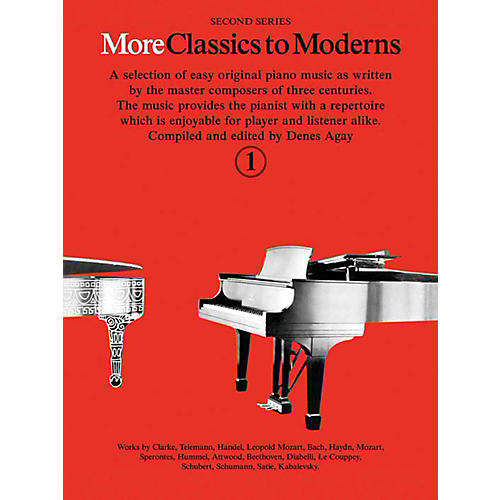 Music Sales More Classics To Moderns - Second Series Book 1-thumbnail