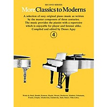 Music Sales More Classics To Moderns - Second Series Book 4