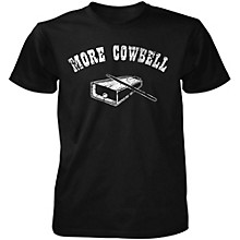 Taboo More Cowbell T-Shirt Black Medium