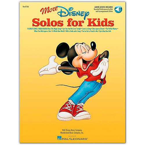 Hal Leonard More Disney Solos for Kids (Book/Online Audio)