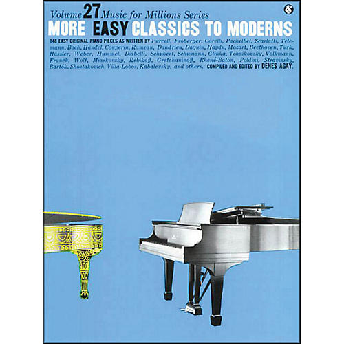 Music Sales More Easy Classics To Moderns By Denes Agay-thumbnail