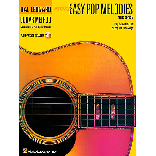 Hal Leonard More Easy Pop Melodies (Book and CD Package)