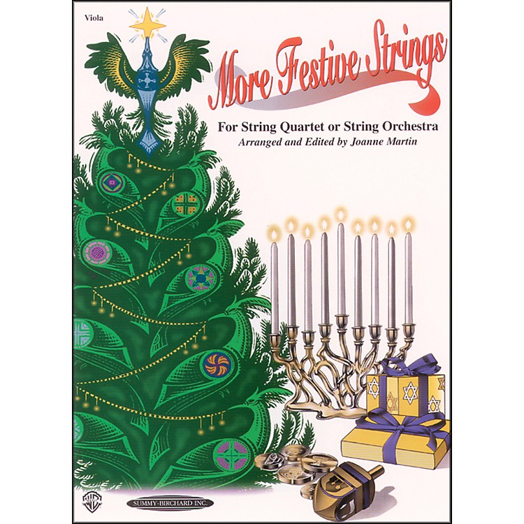 AlfredMore Festive Strings Viola (Book)