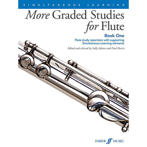 Alfred More Graded Studies for Flute, Book 1-thumbnail