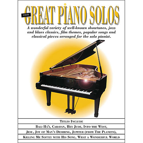 Hal Leonard More Great Piano Solos - Showtunes, Jazz, Blues, Film, Popular, Classical arranged for piano solo
