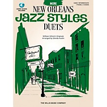 Willis Music More New Orleans Jazz Styles - Piano Duets (Early Intermediate 1 Piano 4 Hands) Book/CD by Glenda Austin